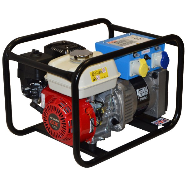 Petrol Generator (2.7kVA / 2.2kw) for hire