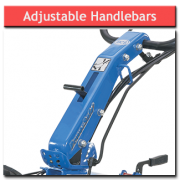 8hp Rotavator Adjustable Handlebars