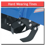 8hp Rotavator Hard Wearing Tines