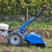 8hp Rotavator In Use 2