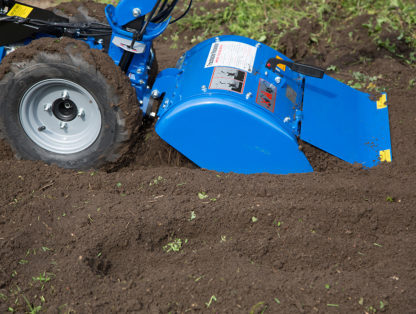 8hp Rotavator In Use 3