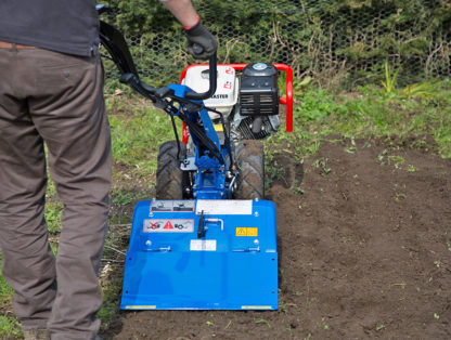 8hp Rotavator In Use 4