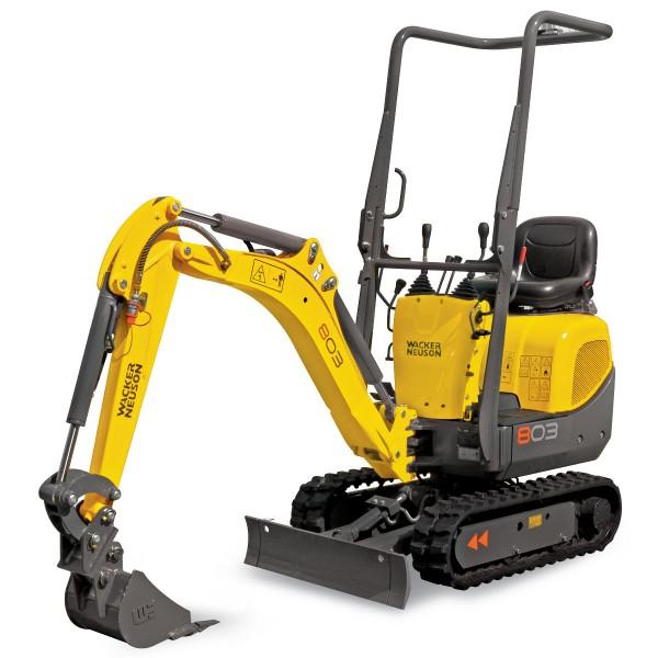 Mini Excavator / Digger (1.0 Tonne) for hire