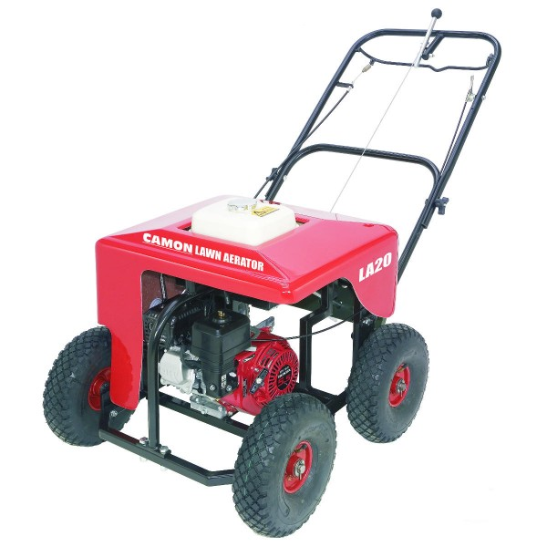 Petrol Lawn Aerator Plugger Spiker for hire