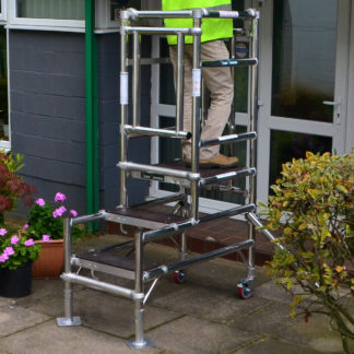 Podium Steps Stepfold 1 for hire