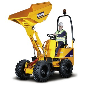 Skip Loader / Dumper (1 Tonne Ride-On) for hire