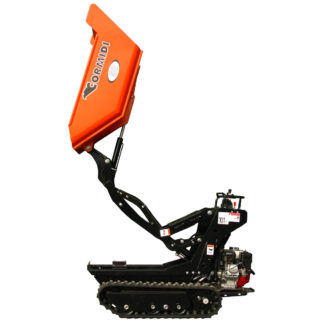 Skip Loader / Dumper (500kg Tracked) for hire
