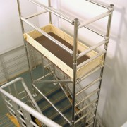 Stairway Access Tower In Use 2