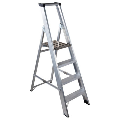 Step Ladder Aluminium Platform for hire