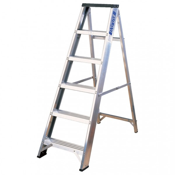 Step Ladder Aluminium Swingback for hire
