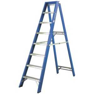 Step Ladder Fibreglass Swingback for hire