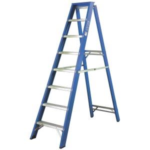 Step Ladder Fibreglass Swingback for hire