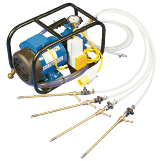 Damp Proof Injection Pump for hire