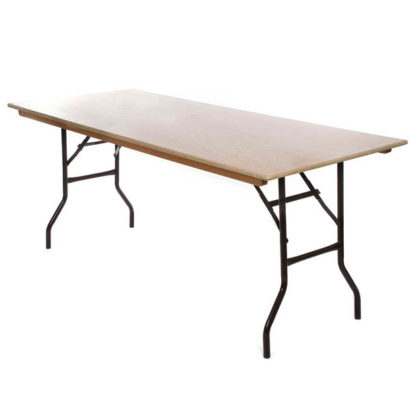 Oblong Trestle Table for hire