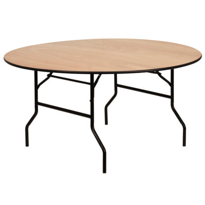 Round Trestle Table for hire