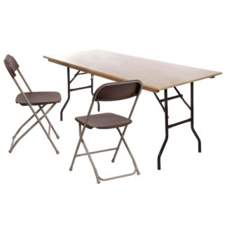 Tables and Chairs for hire
