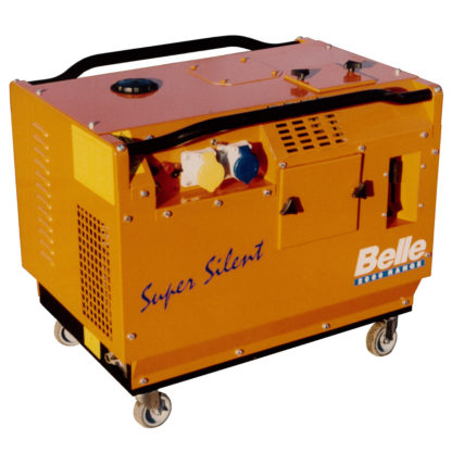 Silenced Petrol Generator (3.0kVA / 2.4kw) for hire