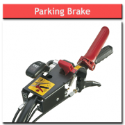 8hp Rotavator Parking Brake