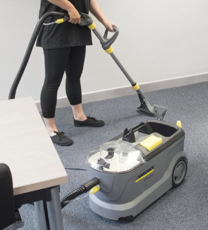 Carpet Cleaner Floor Tool - In Action - 1