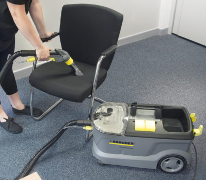 Carpet Cleaner Hand Tool - In Action - 1