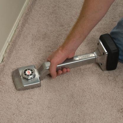 Carpet Stretcher / Knee Kicker In Action - 1