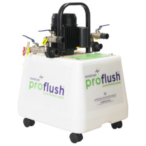 Central Heating Power Flusher for hire