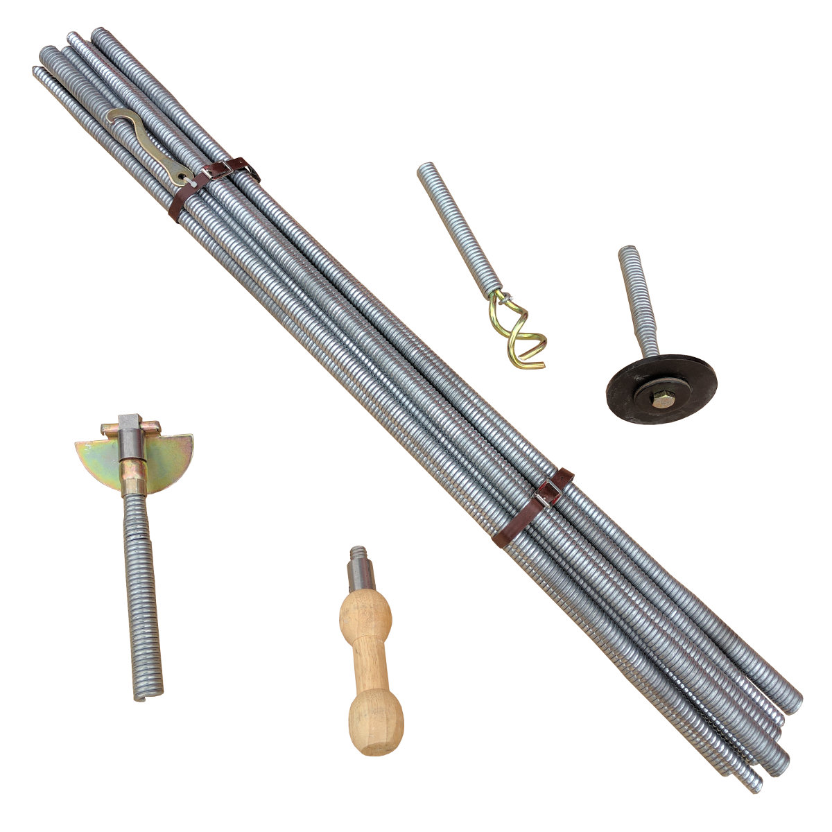Drain Spring Rod Set 9m Wellers Hire
