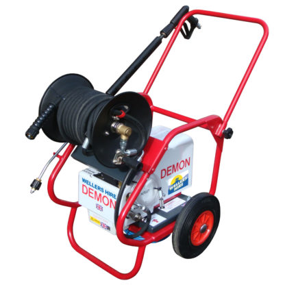 Storm 1HR Electric Cold Water Pressure Washer c/w Hose Reel for hire