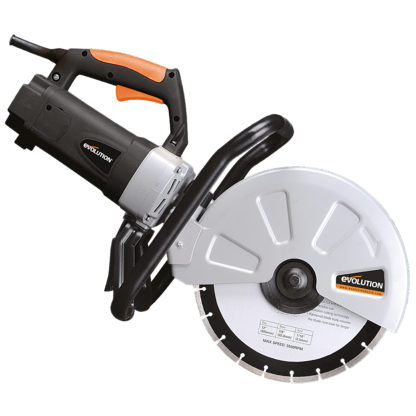 Electric Disc Cutter - 300mm - Side View