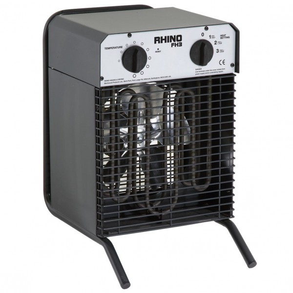 Electric Fan Heater (2.8kw) for hire