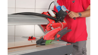 Electric Tile Cutter (Overhead Rail DC-250 1200) In Action - 3
