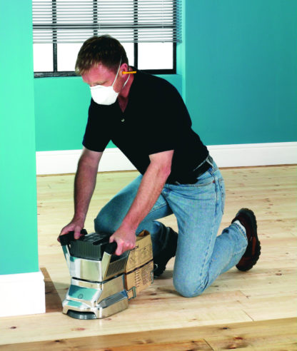 Floor Edging Sander In Action - 1