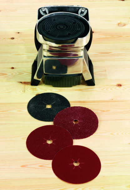 Floor Edging Sander with Abrasive Paper