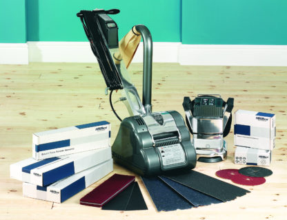 Floor Sander & Floor Edging Sander with Abrasive Paper