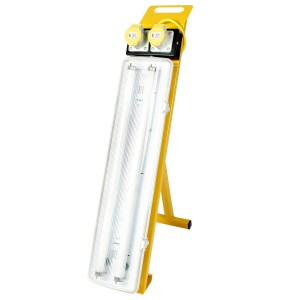 Fluorescent Contractors Light (2ft - 2x18w) for hire