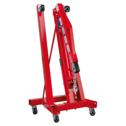 Folding Engine Crane (1000kg) - Folded