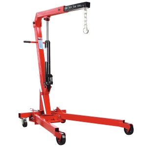 Folding Engine Crane (1000kg) for hire
