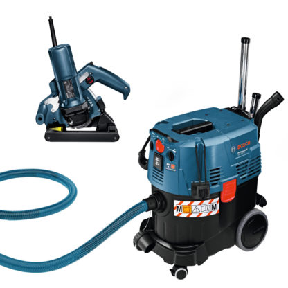 Light Duty Wall Chaser & Dust Extraction Vacuum for hire