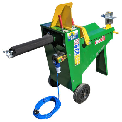 Log Splitter Electric 8 Tonne Hydraulic - Switch Side