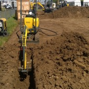Mini Excavator / Digger 1.0 Tonne – In Action 6