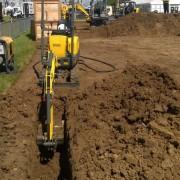 Mini Excavator / Digger 1.0 Tonne – In Action 6