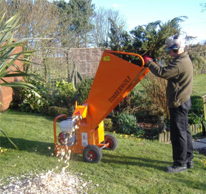 Petrol Chipper 75mm - In Action 1