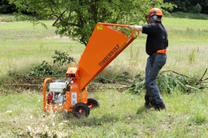 Petrol Chipper 75mm - In Action 2
