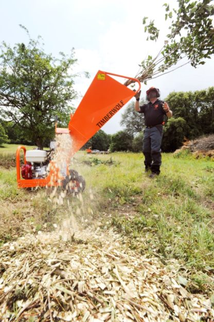 Petrol Chipper 75mm - In Action 4
