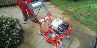 Petrol Cold Water Combi Pressure Washer - In Action 1