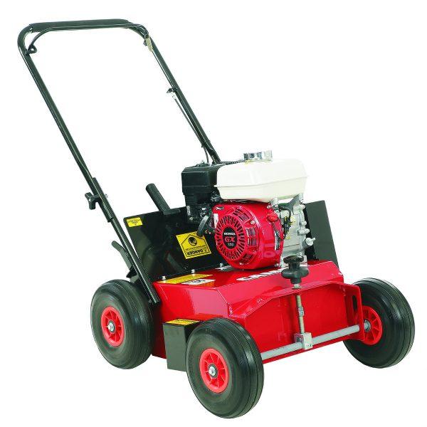 Petrol Lawn Scarifier for hire