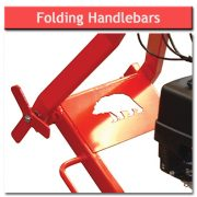 Stump Grinder – Folding Handlebars