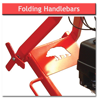 Stump Grinder - Folding Handlebars