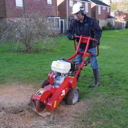Stump Grinder - In Action 1