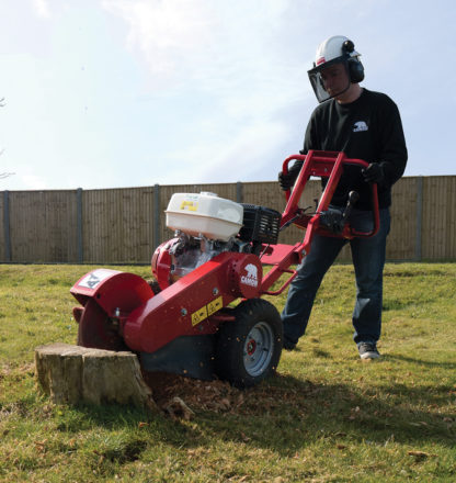 Stump Grinder - In Action 2